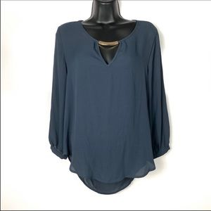NWOT Lily white long sleeve blouse